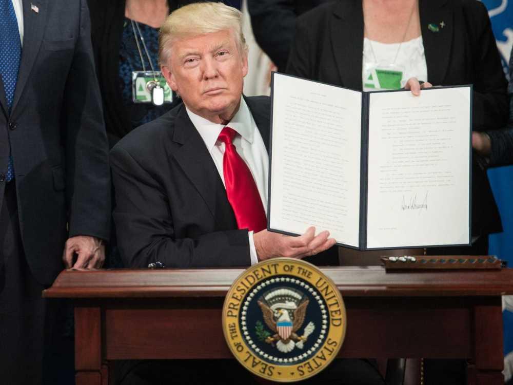 Donald Trump - NICHOLAS KAMM/AFP/Getty Images